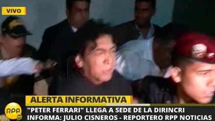 La Policía detuvo a 'Peter Ferrari' por presunto lavado de activos