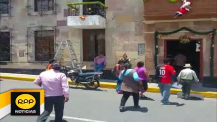 Empresarios y vecinos de parque industrial protestan en municipio de Paucarpata