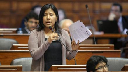 Indira Huilca dice que el fujimorismo no ofrece garantía en investigación Lava Jato