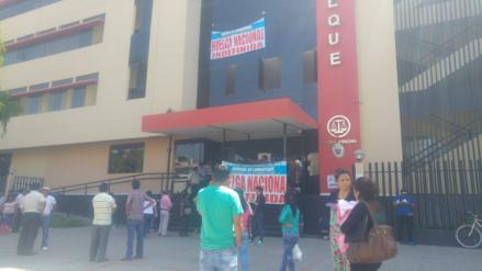 Judiciales de Lambayeque esperan pronunciamiento para determinar si levantan huelga