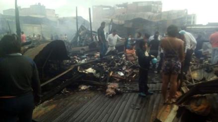 Brigadas de Salud atienden a personas afectadas por incendio en mercado