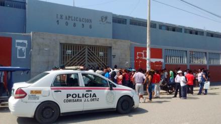 Chiclayo: Ugel intervino colegio donde padres rechazan a directora