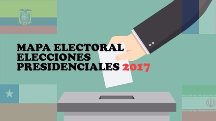 Cuatro países que eligen presidente este 2017