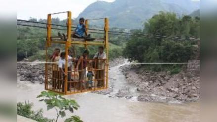 Arriesgan la vida al usar huaro en malas condiciones en Chota