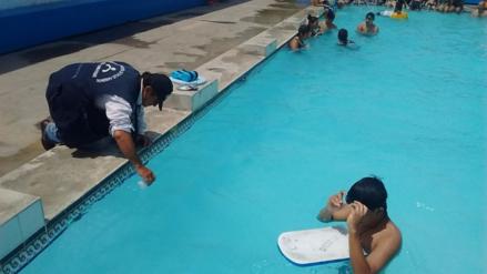 Sanidad y Desa intensifican labores de vigilancia en piscinas de Chiclayo