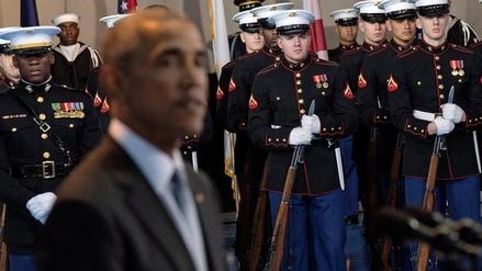 """Obama: """"El Ejército está para proteger a EE.UU. y no para servir a la política"""""""