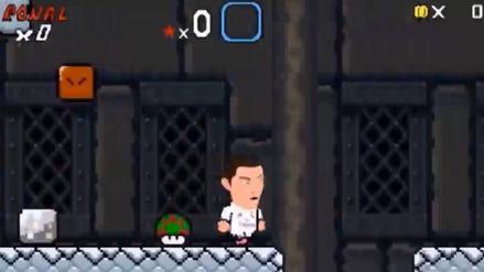 El año de Cristiano Ronaldo parodiado en el juego de Mario Bros