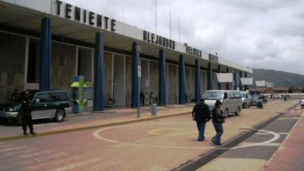 Mochilla abandonada causó zozobra en aeropuerto Velasco Astete