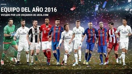 Real Madrid y Barcelona acaparan el once ideal de la UEFA