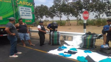 Chiclayo: decomisan ropa y correas de contrabando por más de 28 mil soles