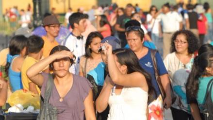 Lima registró su temperatura más alta en lo que va del verano