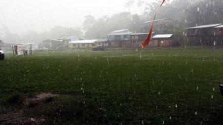 Vraem: fuertes lluvias causaron caída de postes de luz