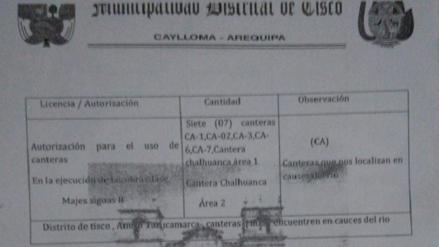 GRA deslinda responsabilidad por paralización de obras de Majes II