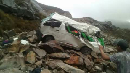 Huaraz: seis muertos dejó trágico accidente en Carhuaz