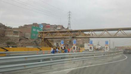 Vuelven a instalar garitas de peaje en Puente Piedra