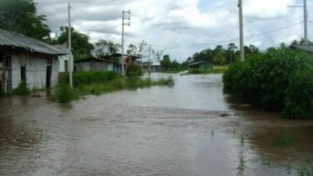 Intensas lluvias incrementaron los caudales del río Mayo y Huallaga