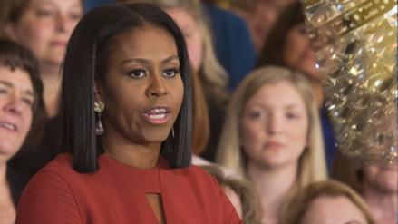 """Michelle Obama en su despedida: """"La diversidad no es una amenaza, es lo que somos"""