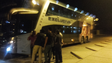 Pisco: un herido de bala dejó asalto a bus interprovincial