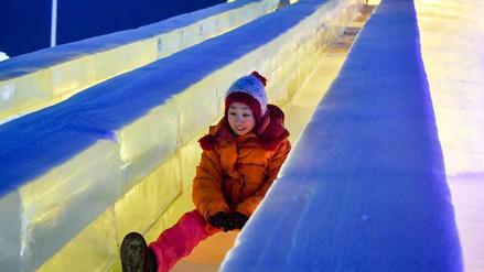 Parejas chinas se casaron a temperaturas de -23 grados bajo cero