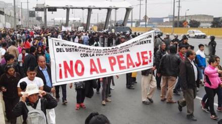 Convocan a nueva marcha contra el peaje de Puente Piedra