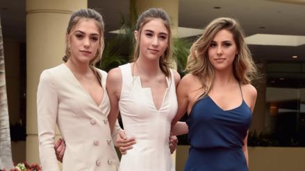Las hijas de Sylvester Stallone son las Miss Globos de Oro 2017