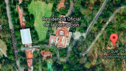 Renombran casa presidencial mexicana como
