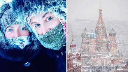 Moscú celebra su Navidad más fría de los últimos 120 años