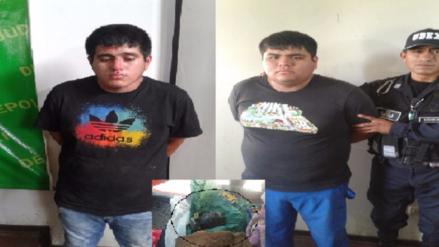 """Chiclayo: presuntos """"marcas"""" son capturados con granada de guerra"""