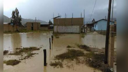 Cajamarca: Fuertes lluvias afectan casas en Celendín