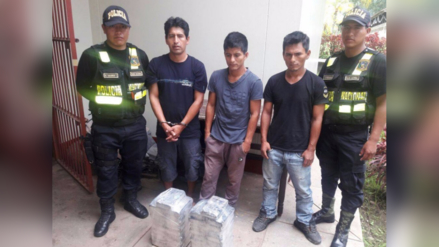 Satipo: policía decomisa 41 kilos de clorhidrato de cocaína