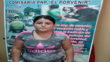 Chiclayo: capturan a mujer que usaba a sus hijos para robar en tiendas de ropa
