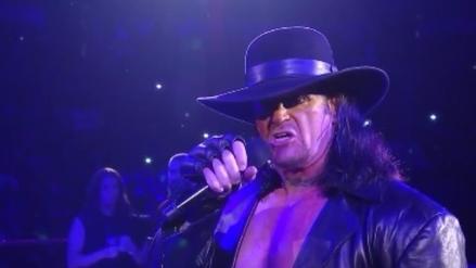 The Undertaker confirmó su presencia en Royal Rumble 2017