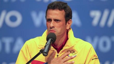 Opositor Capriles es citado por la Contraloría venezolana por caso Odebrecht
