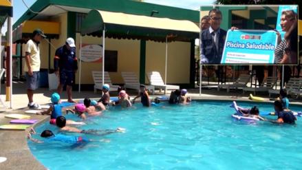 Otorgan certificados a piscinas saludables de Piura