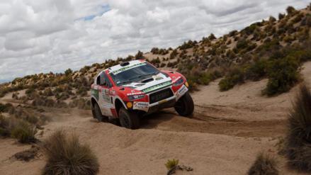 Histórico resultado de Nicolás Fuchs tras la octava etapa del Dakar 2017