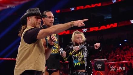 Shawn Michaels volvió a RAW y ayudó a Bigg Cass en el ring