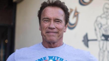 Schwarzenegger lidera cruzada de ejercicio físico en Brasil
