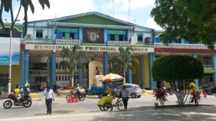 Tres delincuentes asaltan oficina de recaudación de Tumbes