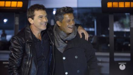 Antonio Banderas y Alejandro Sanz sorprenden cantando juntos