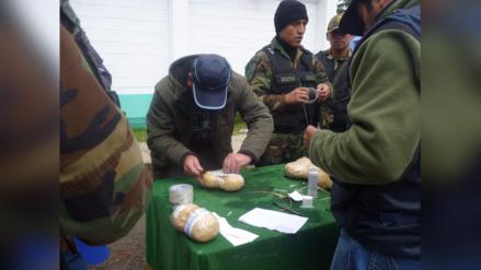 La Oroya: policía incautó más de 300 kilos de droga en el 2016