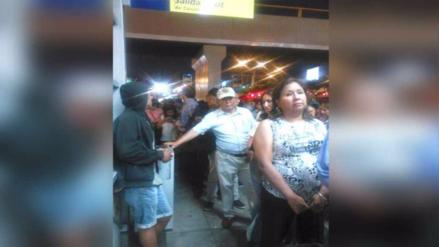 Usuarios reportaron caos en la estación Canadá del Metropolitano