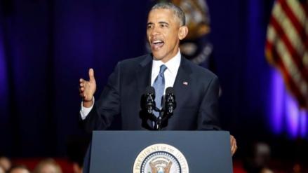 Las frases de Barack Obama en su último discurso como presidente de EE.UU.