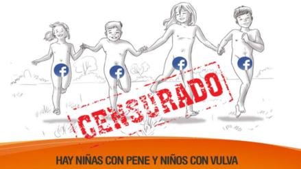 Facebook censura la imagen de una campaña sobre menores transexuales