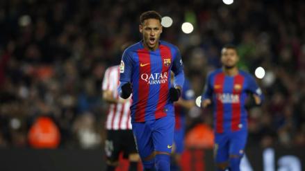 Neymar alcanzó los mil minutos sin poder anotar y rompió su mala racha con un penal