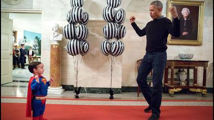 Barack Obama y las divertidas imágenes que dejó en Facebook