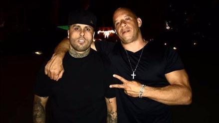 Nicky Jam y Vin Diesel lanzarán una canción juntos