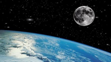 La teoría que explica que la Luna se formó tras varios choques con la Tierra