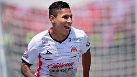 Raúl Ruidíaz anotó golazo en el entrenamiento del Monarcas Morelia