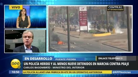 ¿Qué desencadenó la violencia en la protesta de hoy en Puente Piedra?