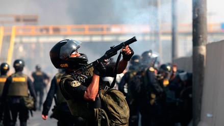 Fotos | Caos en Puente Piedra luego de que una marcha pacífica se tornó violenta